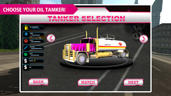 Pink Lady Oil Truck Driver - náhled