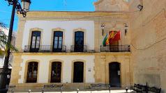 Fachada del Ayuntamiento de Vera.