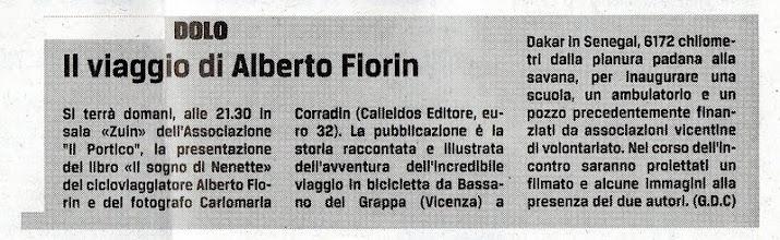 Photo: Il Gazzettino di Venezia (12.02.2013)