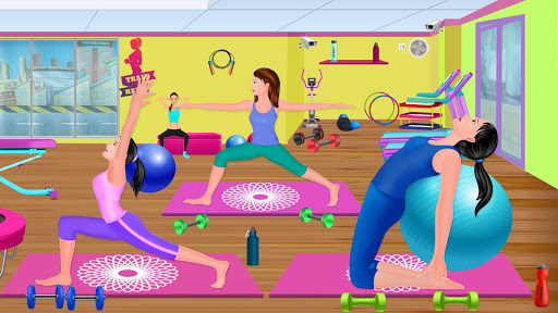 High School Fitness Athlete: Acrobat Workout Game android2mod screenshots 9