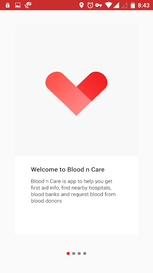 Blood n Care- screenshot