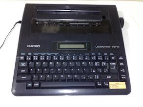 Photo: Casio Casiowriter CW-16 Spell check & LCD