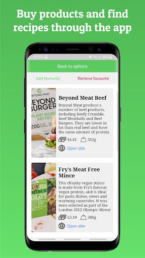 Veggie Alternatives - Vegetarian & Vegan Foods screenshots 3