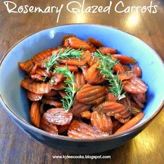 Rosemary Glazed Carrots