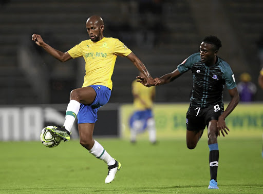Mosa Lebusa and some of his Mamelodi Sundowns teammates' antics on Tuesday against Bloemfontein Celtic are just 'part of the game', says coach Pitso Mosimane.