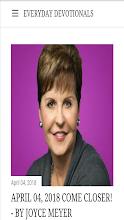 Joyce Meyer Devotional 2019 screenshot thumbnail