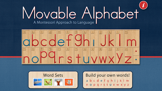 Montessori Movable Alphabet- screenshot thumbnail