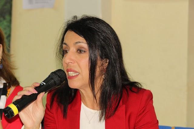 Marta Bosquet, presidenta del Parlamento de Andalucía.