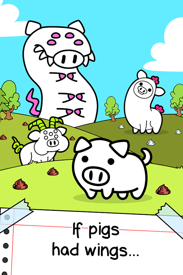 Pig Evolution - Clicker Game- screenshot