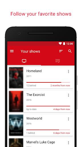 SERIST - Your TV Show Tracker  screenshots 2