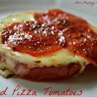 Baked Pizza Tomatoes.
