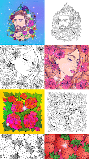 No.Paint - Relaxing Coloring games apkdebit screenshots 5
