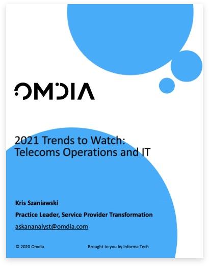 Omdia: 2021 Trends to Watch in Telecoms IT & Operations (Tendances à surveiller: opérations et informatique des télécommunications)