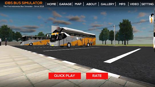 IDBS Bus Simulator MOD (Unlimited Money) 4