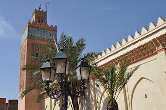 Photo: Marrakech : quartier des tombeaux saadiens