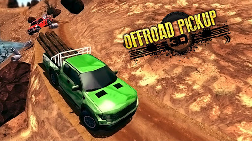 Off - Road Pickup Truck Simulator fond d'écran 1