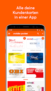 Mobile Pocket Kundenkarten