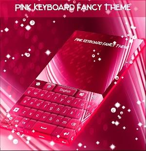 Pink Klávesnice Efektní téma - náhled