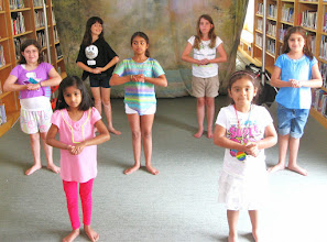 Photo: Bollywood lesson at Challenge Camp by Gargi (day 1)