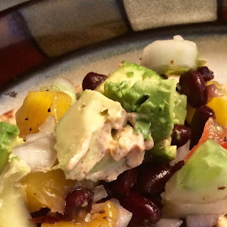 Fish Tacos with Mango Cucumber Salad and Creamy Taco Sauce