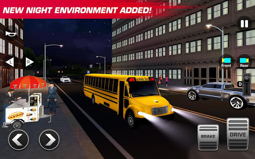 Super High School Bus Driving Simulator 3D - 2020 2.2 screenshots 4