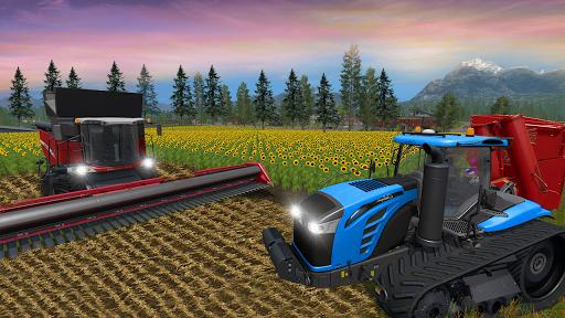 Real Farm Town Farming tractor Simulator Game 1.1.2 screenshots 11