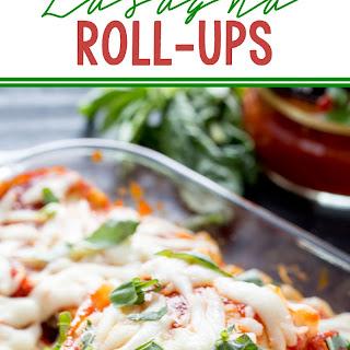 Spicy Italian Lasagna Roll Ups
