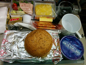 Photo: Food from Singapore to Colombo.