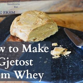 Gjetost Recipes.