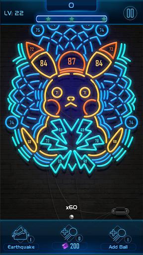 Neon n Balls apkpoly screenshots 3