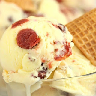Lemon Sour Cherry Ice Cream