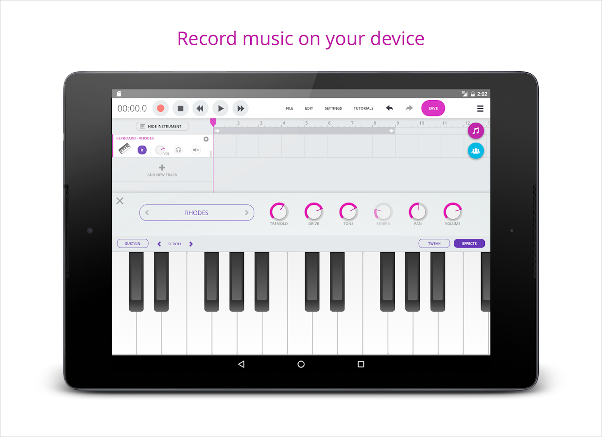 Soundtrap - Make Music Online- screenshot