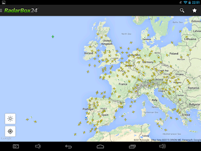 RadarBox24 Free Flight Tracker – Miniaturansicht des Screenshots