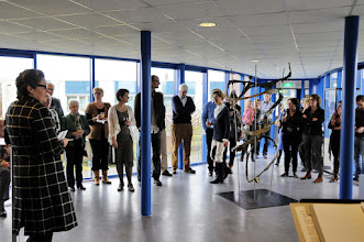 Photo: The reception at Dronten
