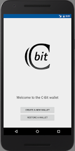 C-bit Wallet (XCT)- screenshot thumbnail