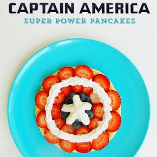 Captain America Pancakes.