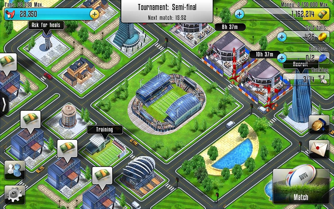 Rugby Manager- screenshot