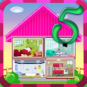 Doll House Decoration Game 5 icon