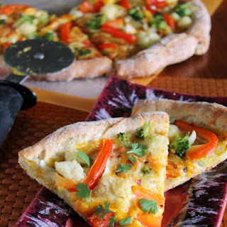 PUMPKIN CURRY PIZZA