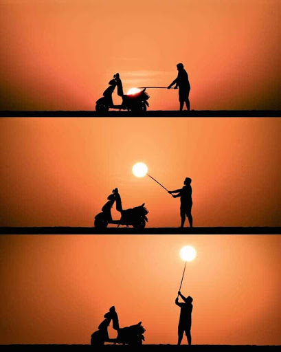 Brilliant Photos Use Sunset Silhouettes to Tell Magical Visual Stories