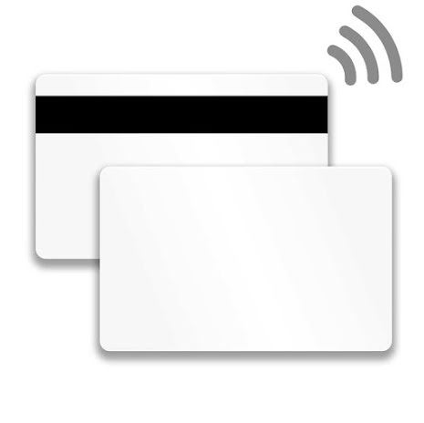 Plastkort CR80 EM4200 + MIFARE Classic EV1 1K HiCo