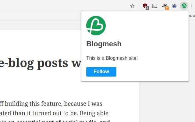 Blogmesh