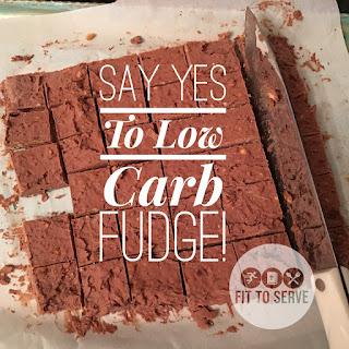 Low Carb Keto Fudge.