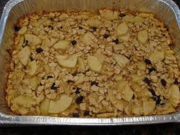 Passover Apple Matzo Kugel Recipe