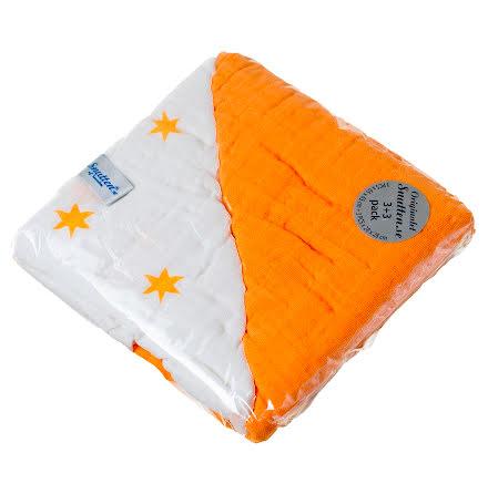 Apelsin 3st Stora Original +3st Näsduk Vita med stjärnor