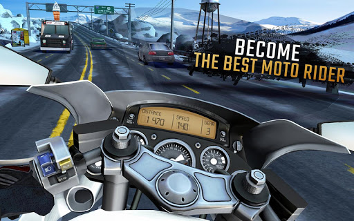 Moto Rider GO: Highway Traffic  captures d'écran 6