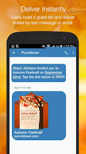 Punchbowl online invitations apps on google play screenshot image stopboris Gallery