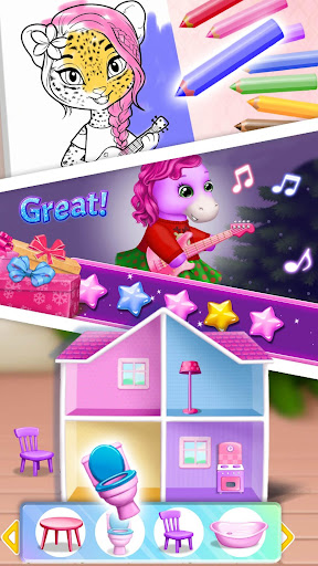 Pony Sisters Christmas - Secret Santa Gifts 3.0.40002 screenshots 8