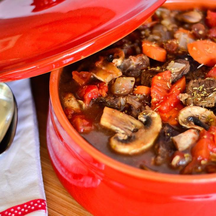 Hearty Beef and Mushroom Stew