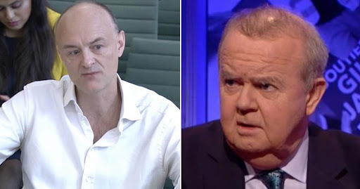 HIGNFY's Ian Hislop slams Dominic Cummings hearing as 'one of the most disgusting performances in public life'
